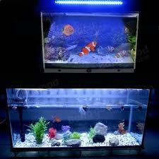 submersible led aquarium lights 42 led aquarium submersible white blue light l bar 230v us