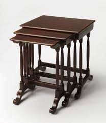 butler specialty nesting tables smithsonian castle rectangular nesting tables multiple colors by