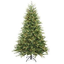 ft pre lit led pine artificial