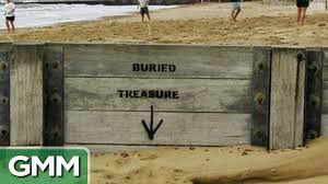 Real Treasure Maps Real Life Buried Treasure Youtube