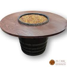 wine barrel fire table wine barrel fire table table designs