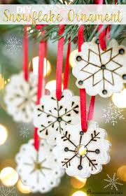remodelando la casa diy snowflake ornament