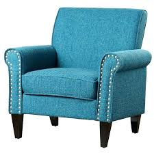 blue armchair rocker chair and footstool childrens chesterfield