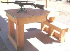 How To Build A Wooden Table How To Build A Shooting Bench Step By Step Plans And