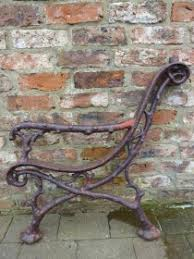 wrought iron bench ends thompsons garden emporium suppliers of english antique vintage