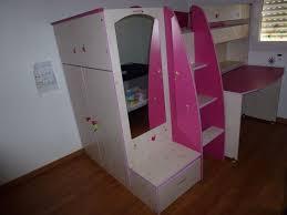 lit bureau armoire combiné achetez lit combiné fille occasion annonce vente à la brède 33