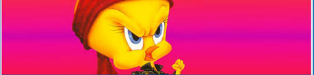 tweety bird coloring looney tunes spot coloring pages