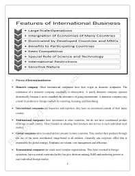 international business notes complete