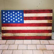 White Flag With Red Cross On Blue Square American Flag Pallet 4 Steps With Pictures
