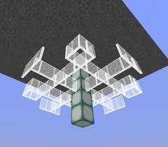 Glowstone Chandelier Chandelier Tutorial Minecraft Amino