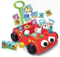 Ruspe Giocattolo A Pedali by Lisciani 57733 Carotina Baby Wagon Games Kit