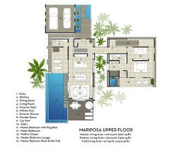 Contemporary Floor Plan by Villas Plans Designs Home Design Ideas