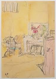 chambre a é chambre dedouard vuillard au château des clayes 1932 1935 by
