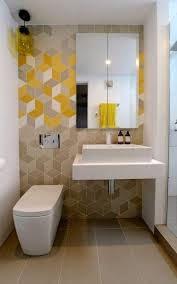 bathroom design textured walls in yellow bring warmth to the