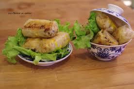 cuisine chinoise nems nems végétariennes carotte chou chignon noir