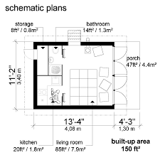 tiny cabins floor plans small house plans with shed roof