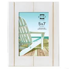 5x7 picture albums seaside white wash wood 5x7 frame by prinz picture frames photo