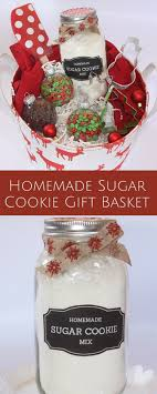 cookie gift basket sugar cookie gift basket