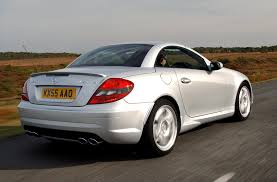mercedes benz slk amg review 2004 2010 parkers