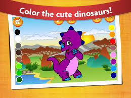 kids dinosaur coloring pages android apps on google play