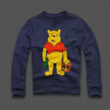 money honey winnie pooh sweatshirt wehustle menswear