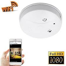 spycam bedroom fivesky 1080p hd p2p wifi hidden camera smoke detector nanny spy