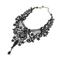 necklace black choker images Gothic black choker necklace the deal animal jpg