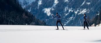 cross country skiing in obergurgl hochgurgl tyrol austria