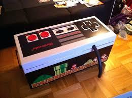 coffee table game console video game storage furniture brilliant video game storage ottoman