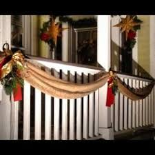 Christmas Decorations For Outdoor Railings by Use Plastic Balls Make A Hole In The Bottom Of Each Then Thread
