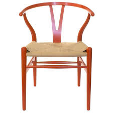 Red Dining Chair Red Carl Hansen And Son Ch24 Wishbone Dining Chairs Hans Wegner