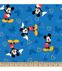 disney mickey mouse print fabric joann
