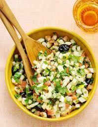 menu cuisine marocaine salade marocaine pour 4 personnes recettes à table