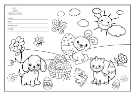 sylvester u0027s easter colouring competition clockhouse vets