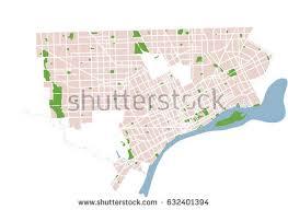 map usa detroit detroit stock images royalty free images vectors