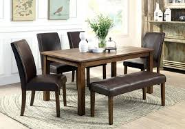 dining table set for small room dining table bench two chairs big and small room sets with seating