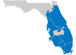 florida service regions fl map empire today
