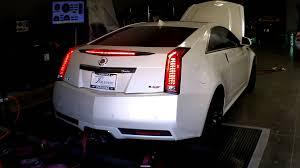 cadillac cts v pulley upgrade cts v with lingenfelter supercharger upgrade on the dyno