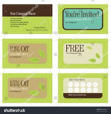 Business Card With Bleed 35x2 Business Card Promo Cards Includes Stock Vector 26823493
