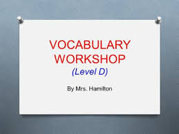 vocabulary terms unit ppt video online download