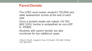 august september identification and placement of ells first 20