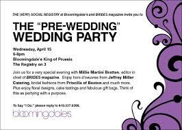 bloomies wedding registry destination wedding invitation wording sles pre we v
