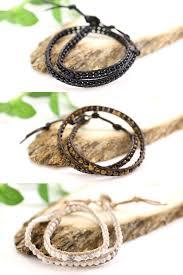 ladies leather strap bracelet images Accessoryshopbarzaz ladies leather natural stones bracelet round jpg