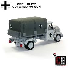 opel truck ww2 custombricks de lego ww2 wwii wehrmacht willys jeep mit m416