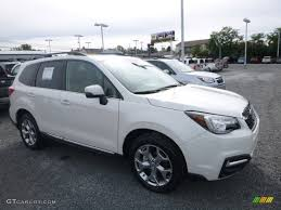 2017 subaru forester 2017 crystal white pearl subaru forester 2 5i touring 116314337