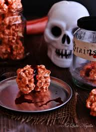 bloody popcorn brains not quite nigella