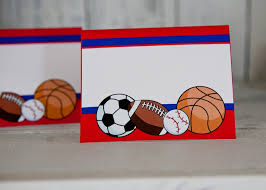 20 best sports theme birthday images on pinterest sports