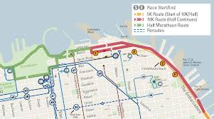 Sf Bart Map The Giant Race Half Marathon Sfmta