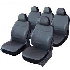 housse de siège auto simili cuir boston monospace 5 places