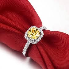 wholesale engagement rings online get cheap engagement rings cushion cut aliexpress com